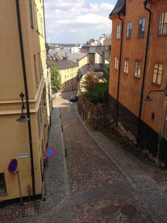 The beatiful, arty, hipster neighborhood of Södermalm