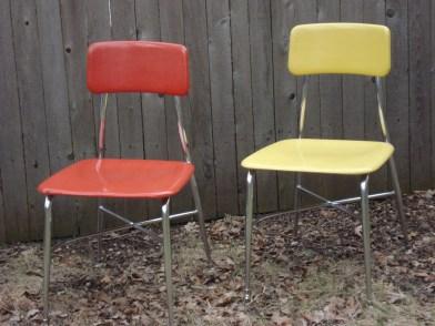 """Heywood Wakefield """"HeyWoodite"""" chairs"""