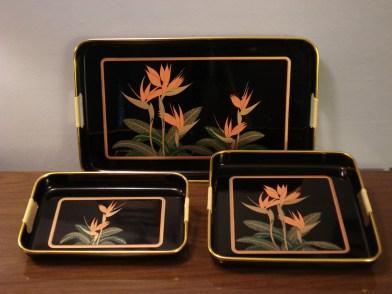 Japanese Lacquerware Trays