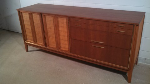 Pics 12-16 - The finished credenza. The entire project took about a week.