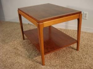 End table refinished by Erik G. Warner