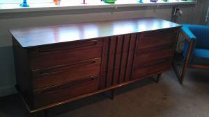 American of Martinsville 9-drawer Dresser -Refinished by Erik G. Warner