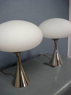 Pair of Laurel Mushroom Lamps, 2015.