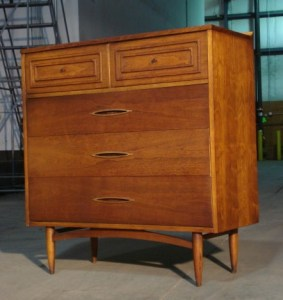 Broyhill Sculptra Chest of Drawers- Refinished by Erik G. Warner