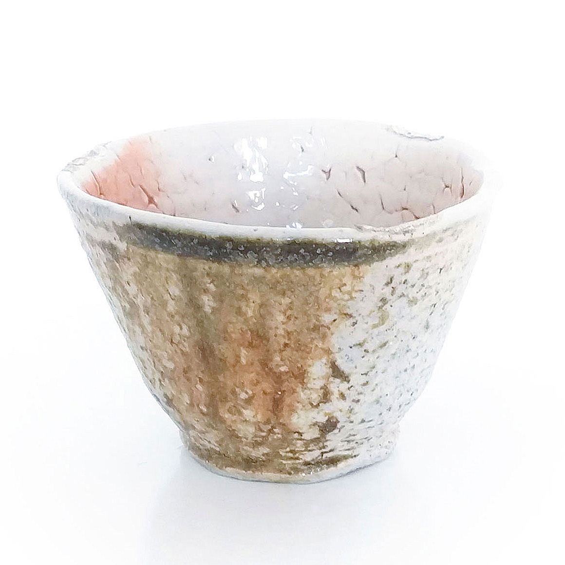 Erik Haugsby Keramik Tasse Tee Shino Holzbrand