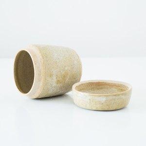Erik Haugsby Jar Green Handmade Pottery Ceramics
