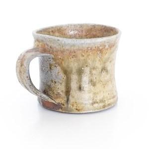 Erik Haugsby Holzbrand Tasse Tee Kaffee Holzashe Keramik