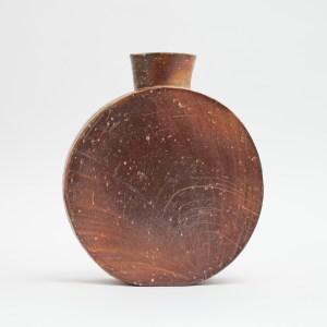 Erik Haugsby Handmade Pottery Woodfired Vase Pilgrim Jar