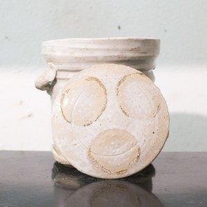 Erik Haugsby Pottery – White Mizusashi, Water Jar
