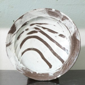 Erik Haugsby Pottery ceramic large plate made from local clay