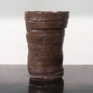 Erik Haugsby Pottery ceramic tumbler water cup made from local clay