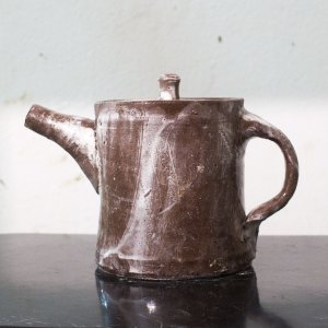 Erik Haugsby Pottery ceramic teapot made from local clay