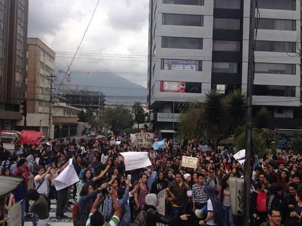 No fueron solo aranceles - Federación Nacional de Estudiantes Universitarios Particulares del Ecuador – FEUPE – (6/6)
