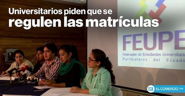No fueron solo aranceles - Federación Nacional de Estudiantes Universitarios Particulares del Ecuador – FEUPE – (2/6)