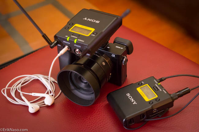 Getting Audio Into the Sony a6000. Yep. It can be done PLUS Sony UWP-D Wireless