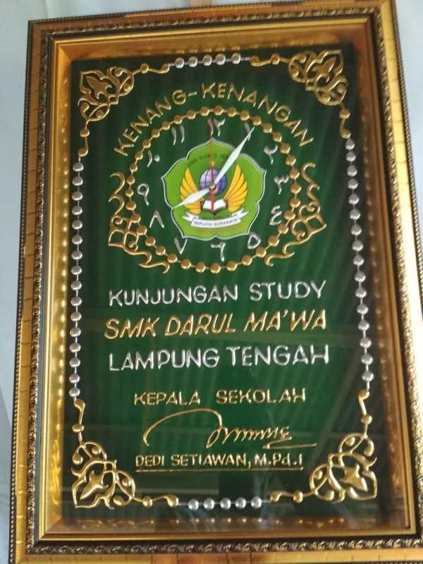 Jam Dinding Kaligrafi (JDK 1)