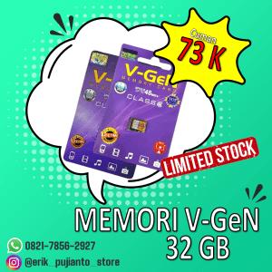 jual memori hp v-gen 32 Gb