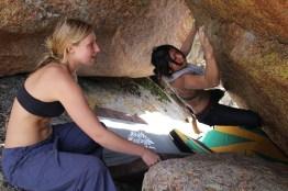 Vedauwoo boulder sessions