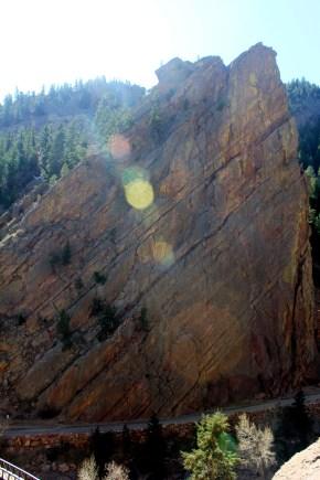 The Bastille formation in Elderado Canyon