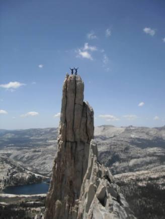 Erik and Paul on top of Eichorns Pinnacle