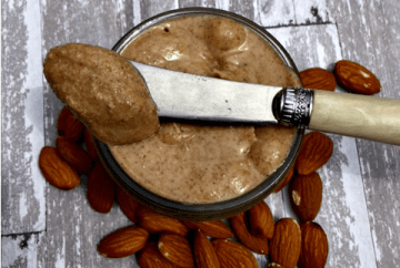 Homemade Raw Almond Butter