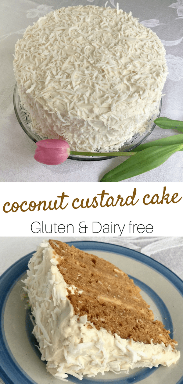 coconut custard cake