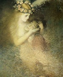 """Illustration by Gennady Spirin from """"The Little Mermaid"""""""