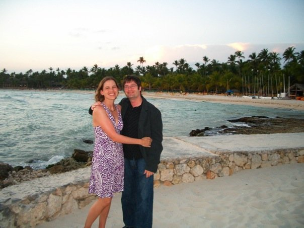 dressed for dinner in the DR