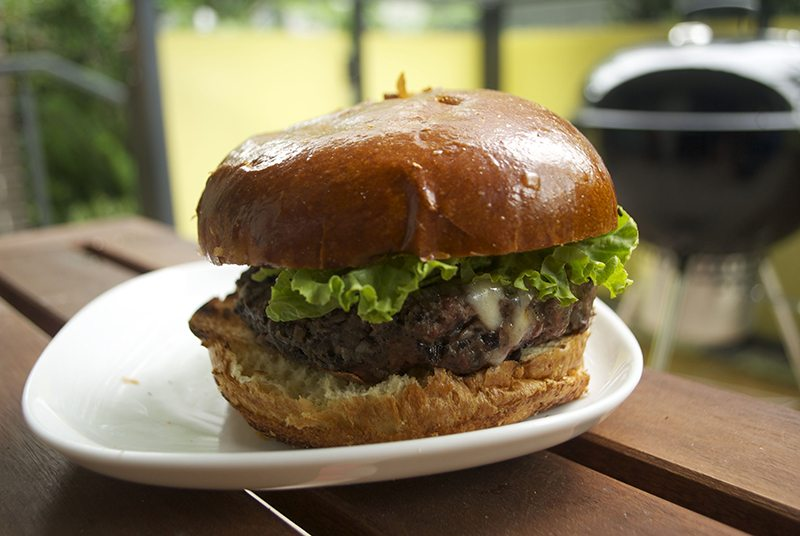 On Treehouse: Bison Burgers