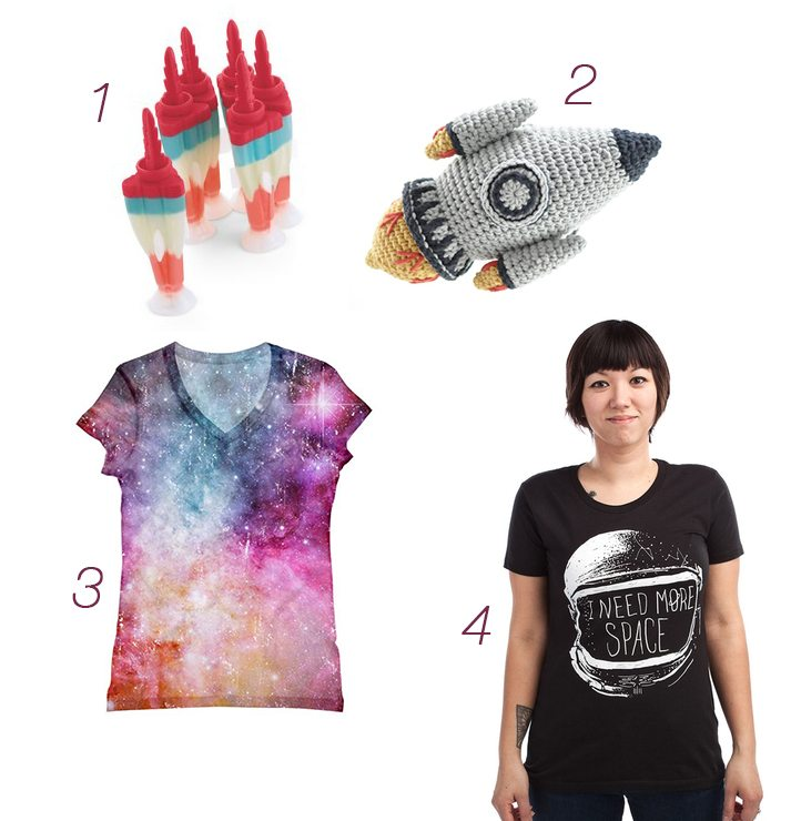 Lovely things: outer space edition