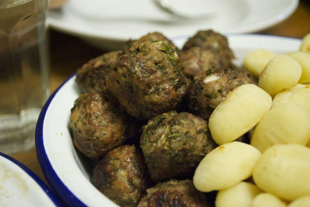 On Treehouse: Kale-studded meatballs