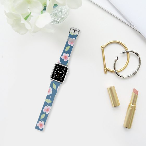 casetify apple watch band cherry blossom