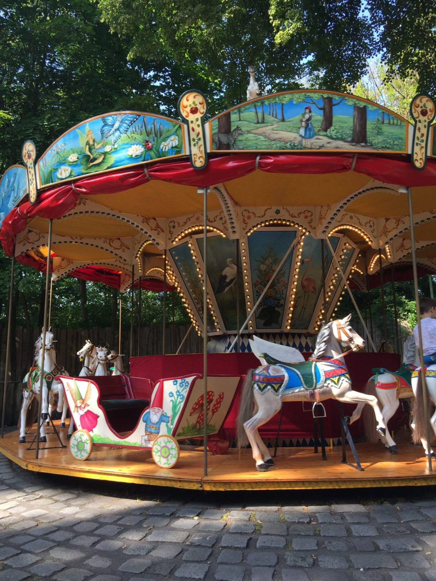 Carousel in the Hellabrunn Zoo