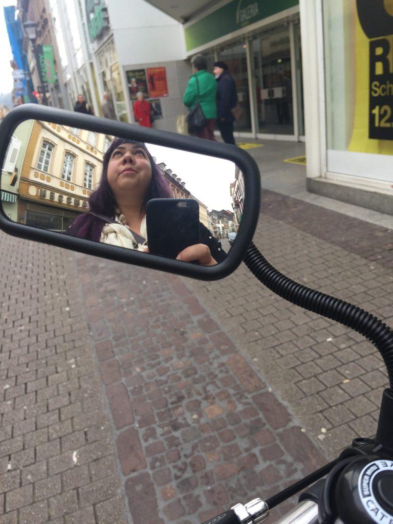 Bike rearview mirror