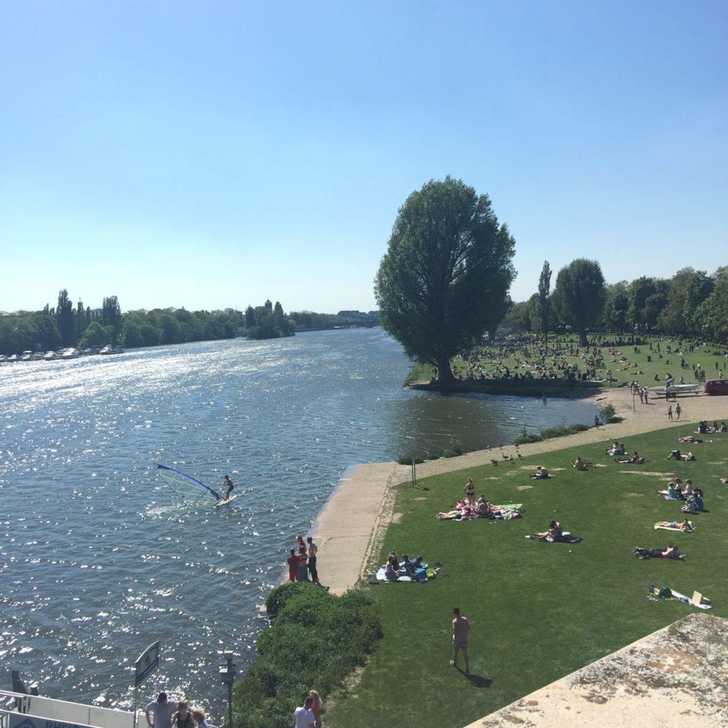 Heidelberg: Take a picnic down to the Neckarweise like a local.