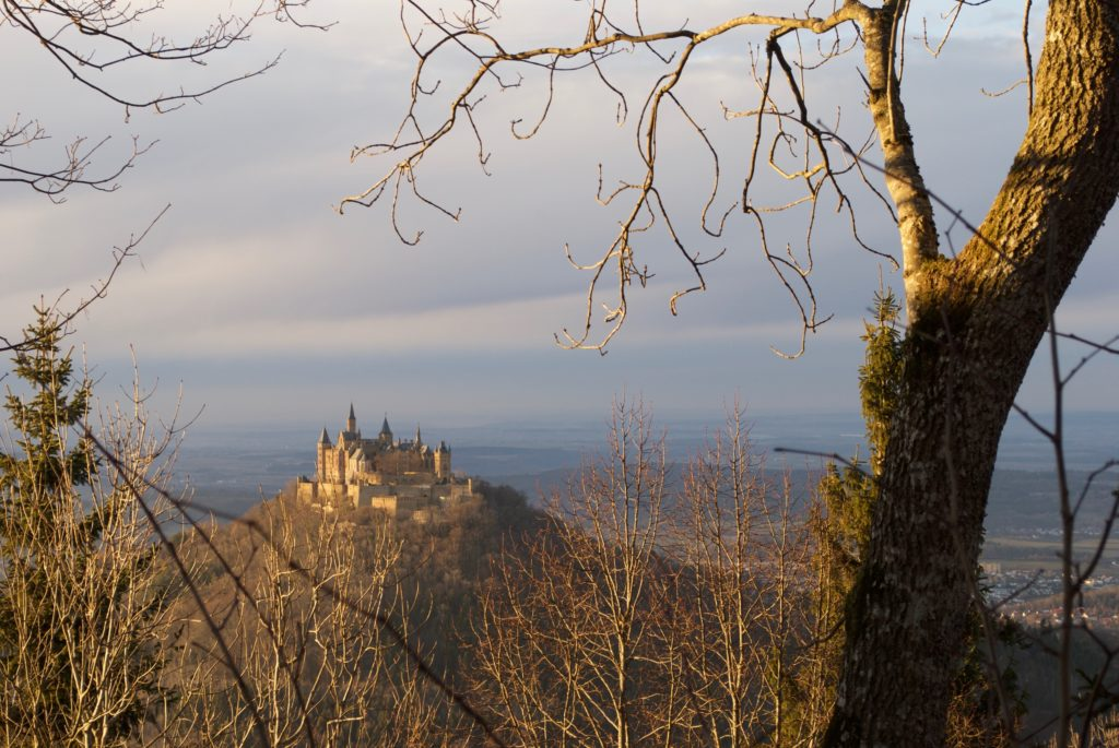 The breathtaking Burg Hohenzollern