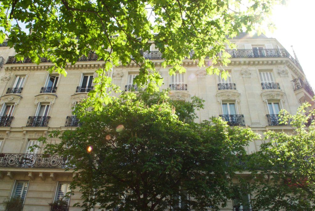 paris with kids – balconies