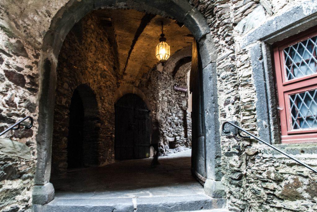 Burg Eltz courtyard stairwell