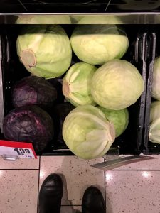 So many cabbages.