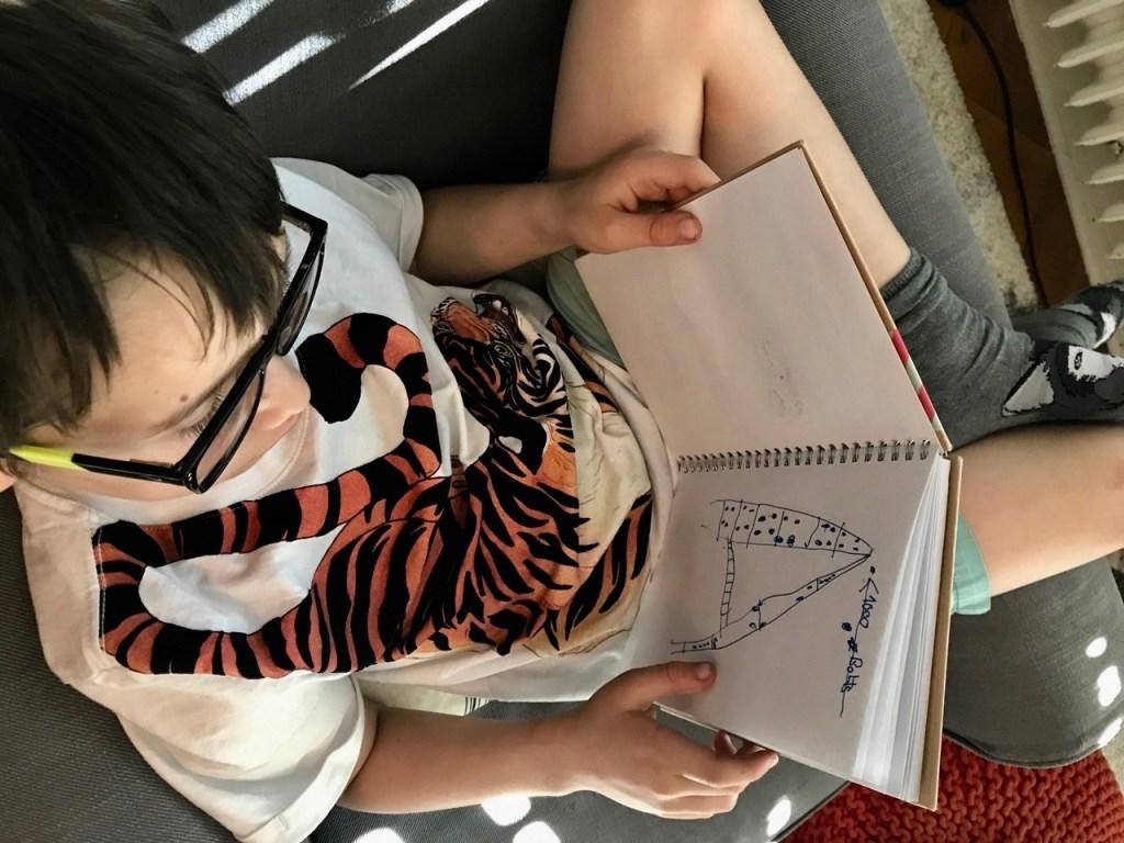 Kids' Travel Journal DIY