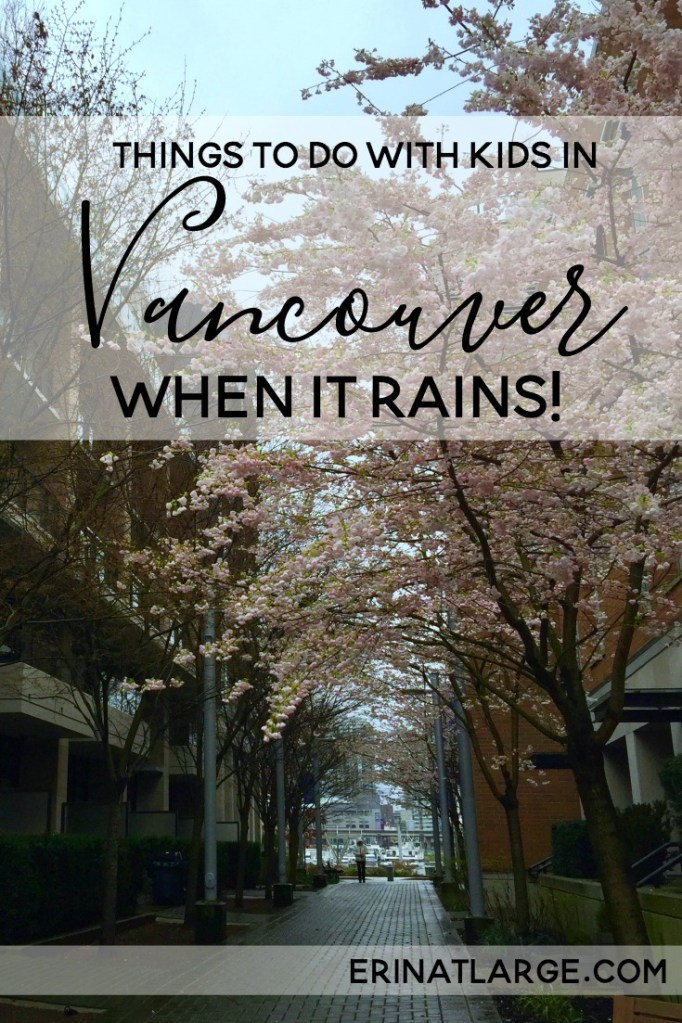 Things to do in Vancouver when it rains PIN