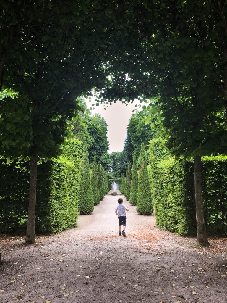 Day trips from Frankfurt -Schwetzingen Schlossgarten