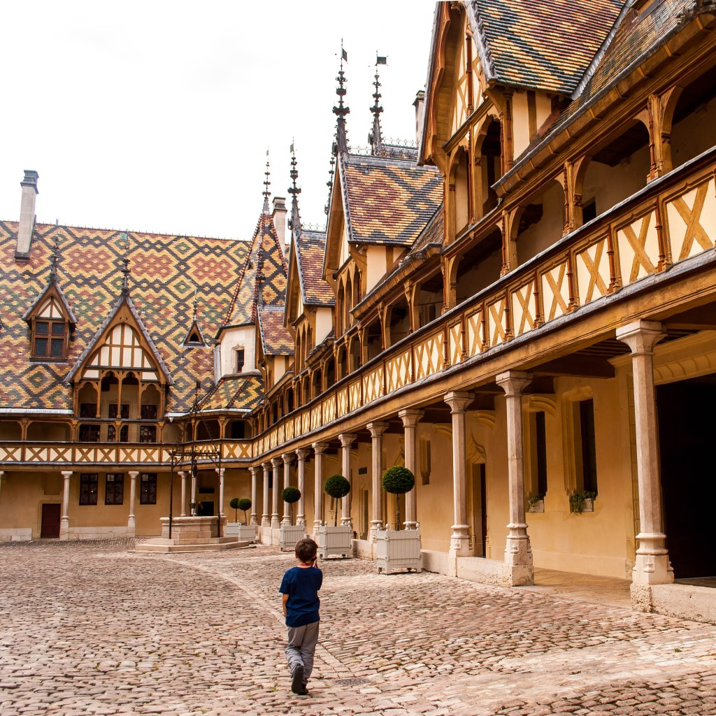 Visiting Beaune with kids