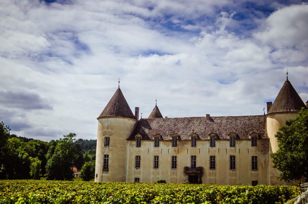 Exploring Châteaux in Burgundy, France
