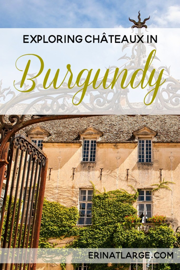 burgundy chateaux PIN