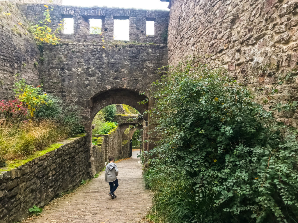 The Hohenbaden castle ruins