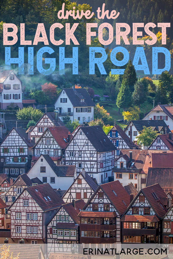 Find out how to do this famous route in the Black Forest, Germany. From Baden-Baden to Freundenstadt, check out fairy tale half-timbered houses, waterfalls, hikes, forest walks and more in this picturesque corner of southern Germany. #travel #germany