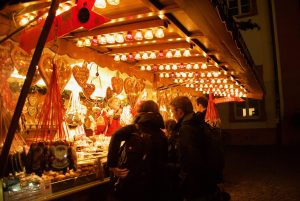 Candy stalls are a regular feature at German Christmas Markets
