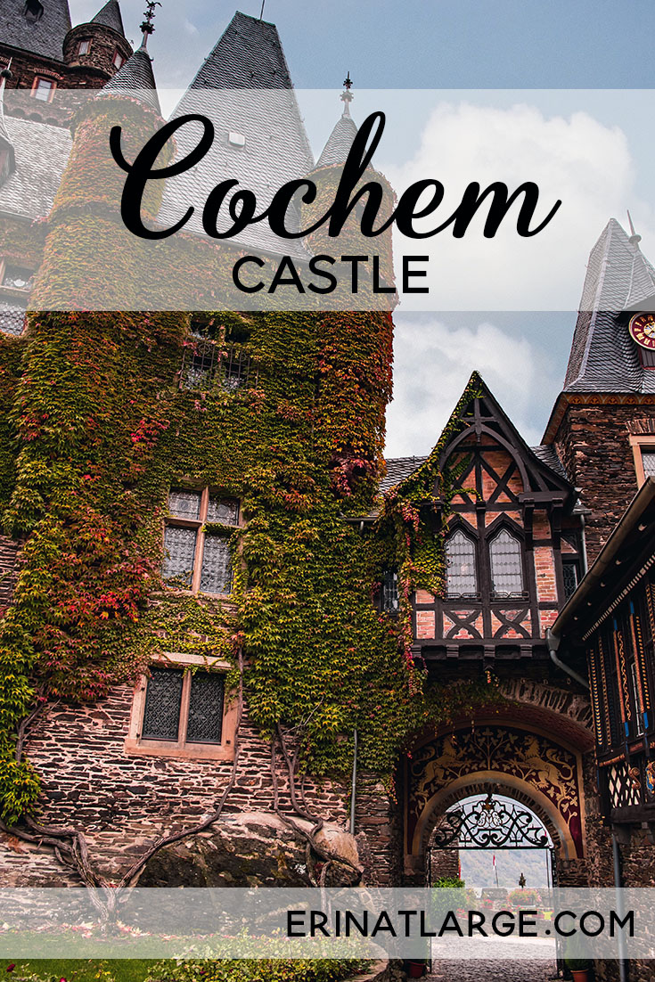 Cochem Castle is one of the most beautiful castles to visit in Germany. Gorgeous and easy to reach, it perches among the vineyards, 100 meters above the Mosel river. Together with the pretty town below, it makes for a great weekend trip.