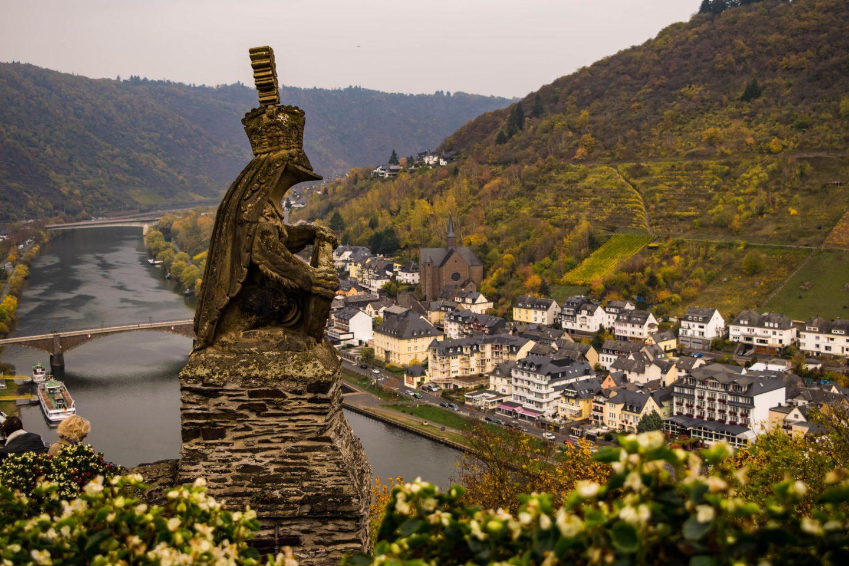 castle cochem view